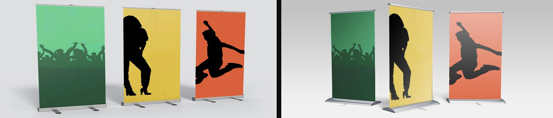 Pole-Banners